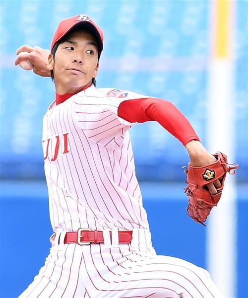 ドラフト指名候補富士大学小野泰己!西武岸クラスの可能性を秘めてるぞこの投手は。※阪神に2位指名されました!