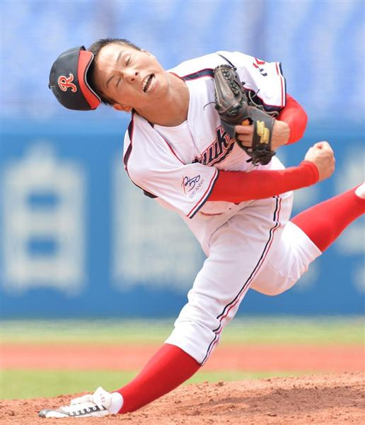 ドラフト候補流通経大生田目翼が遂にプロ志望届提出!伊藤智仁みたいでワクワクする選手だぞ。魅力をたっぷりご紹介!